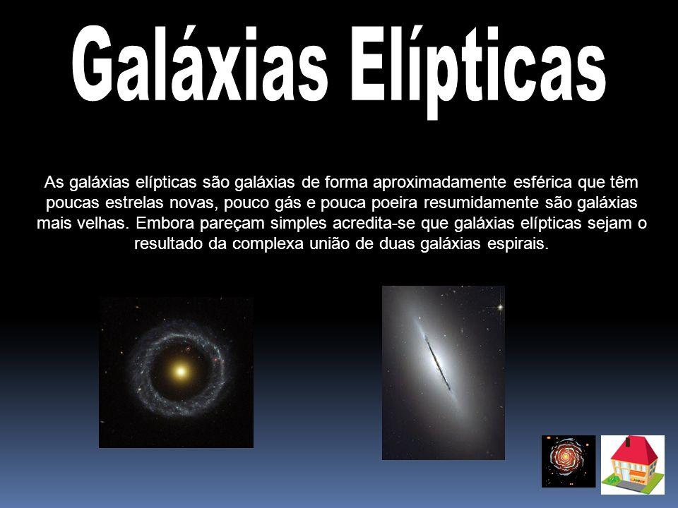 Galáxias Elípticas