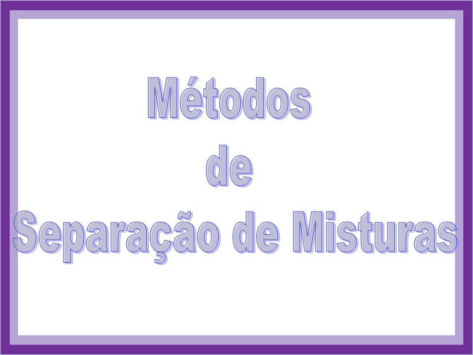 Métodos de Separação de Misturas