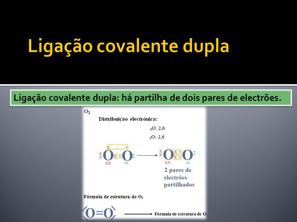 Ligação covalente dupla