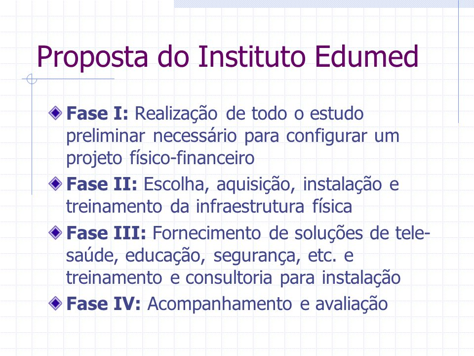 Proposta do Instituto Edumed