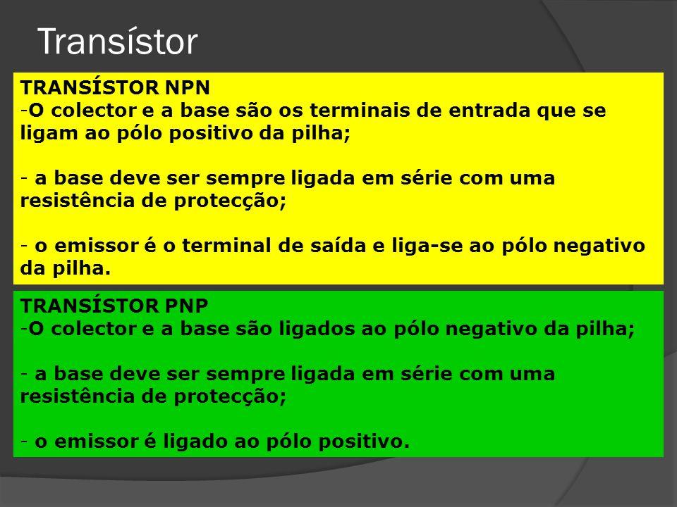 Transístor TRANSÍSTOR NPN