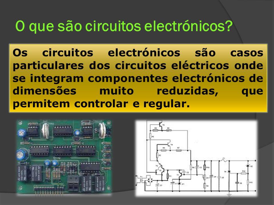 O que são circuitos electrónicos