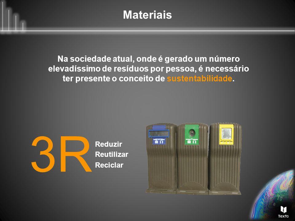 Na sociedade atual, onde é gerado um número elevadíssimo de resíduos por pessoa, é necessário ter presente o conceito de sustentabilidade.