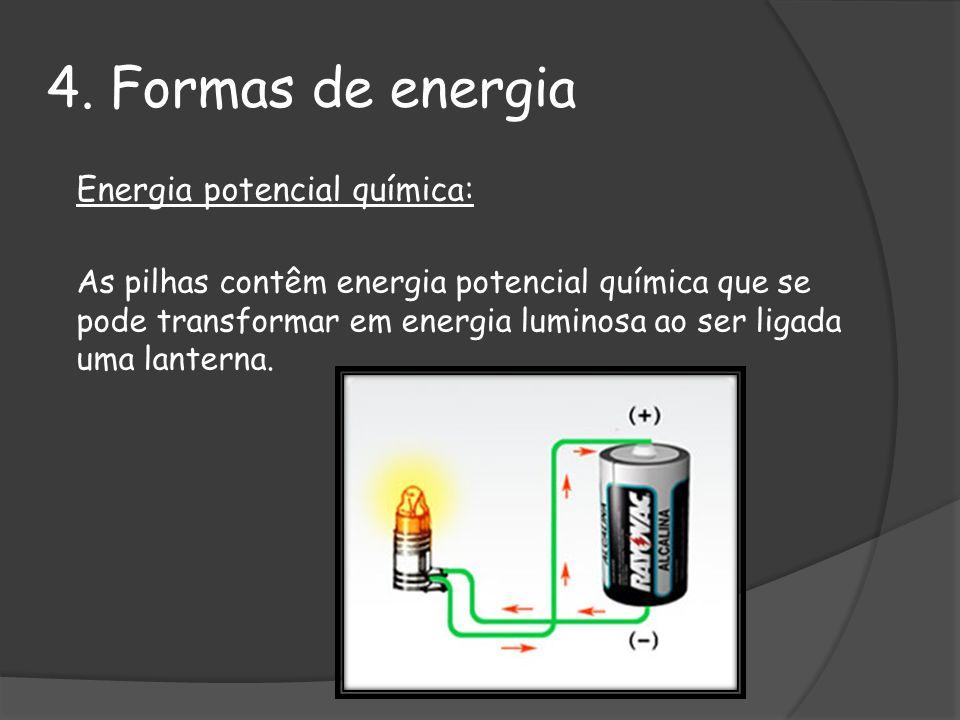 4. Formas de energia