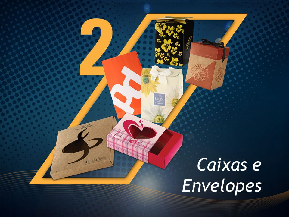 Caixas e Envelopes