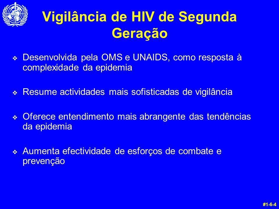 Vigilância de HIV de Segunda Geração