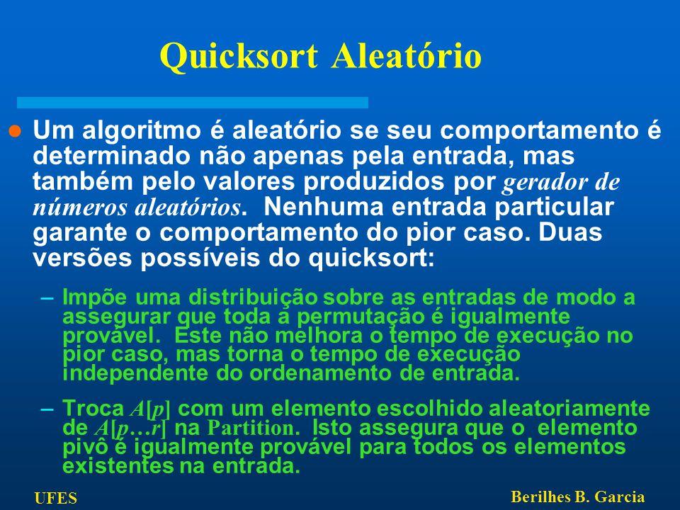 Quicksort Aleatório