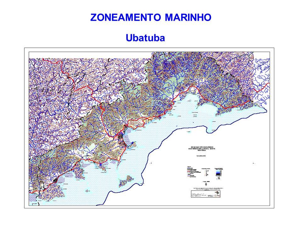 ZONEAMENTO MARINHO Ubatuba