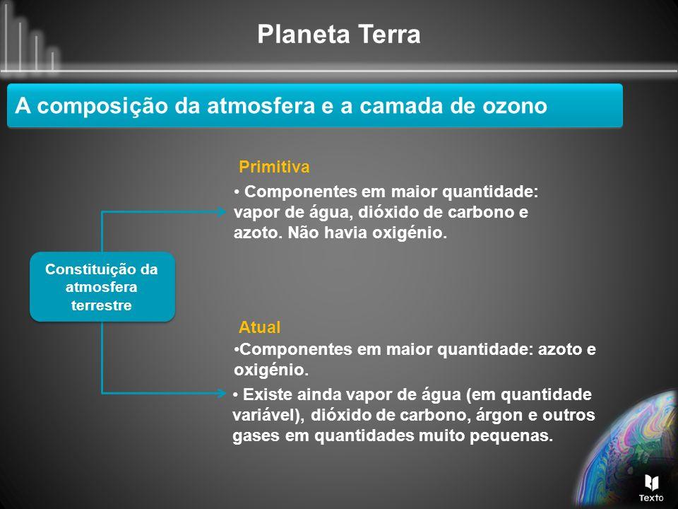 Constituição da atmosfera terrestre