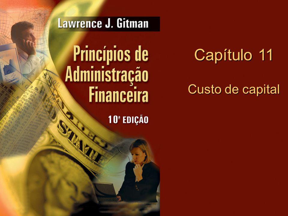 Capítulo 11 Custo de capital