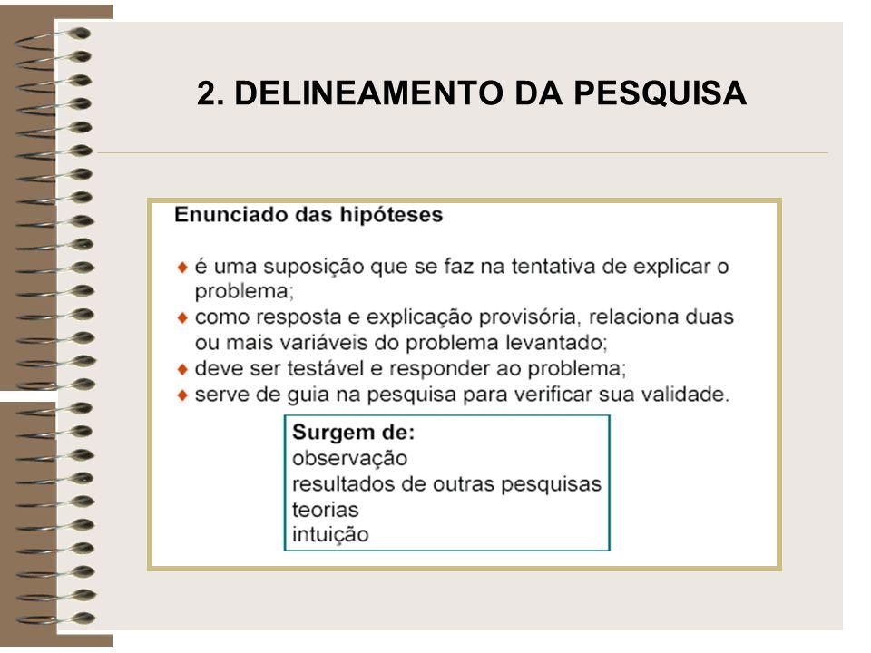 2. DELINEAMENTO DA PESQUISA