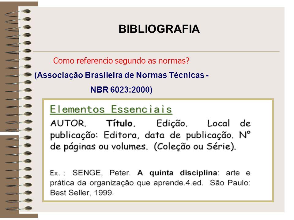 (Associação Brasileira de Normas Técnicas -