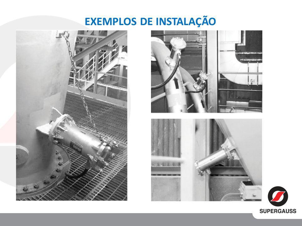 EXEMPLOS DE INSTALAÇÃO