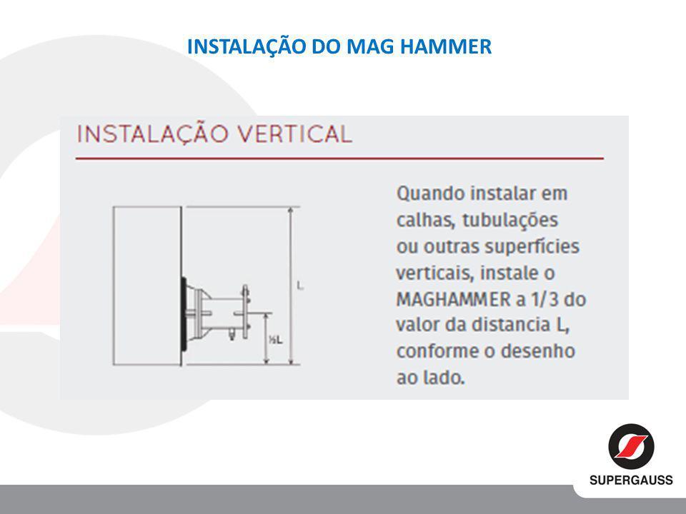 INSTALAÇÃO DO MAG HAMMER