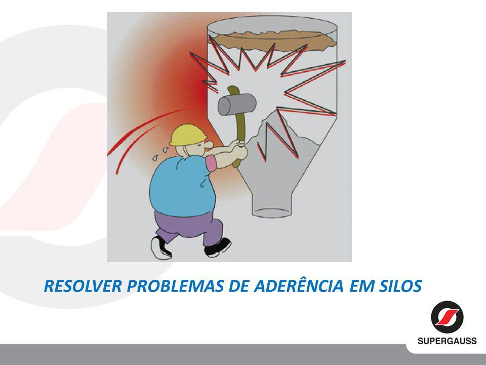 RESOLVER PROBLEMAS DE ADERÊNCIA EM SILOS