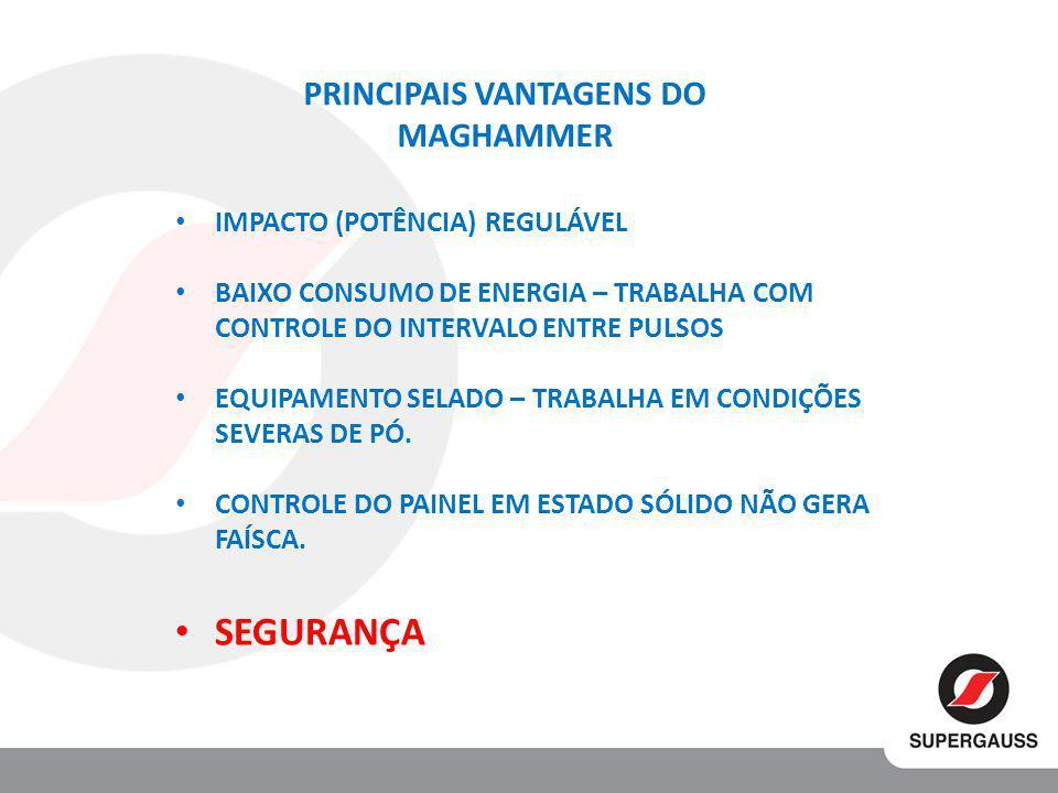 PRINCIPAIS VANTAGENS DO MAGHAMMER