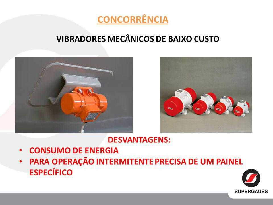 VIBRADORES MECÂNICOS DE BAIXO CUSTO