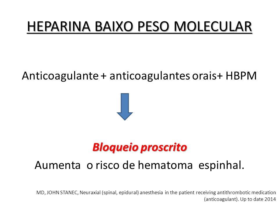 HEPARINA BAIXO PESO MOLECULAR