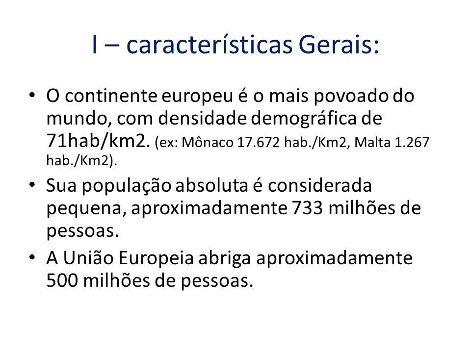 I – características Gerais: