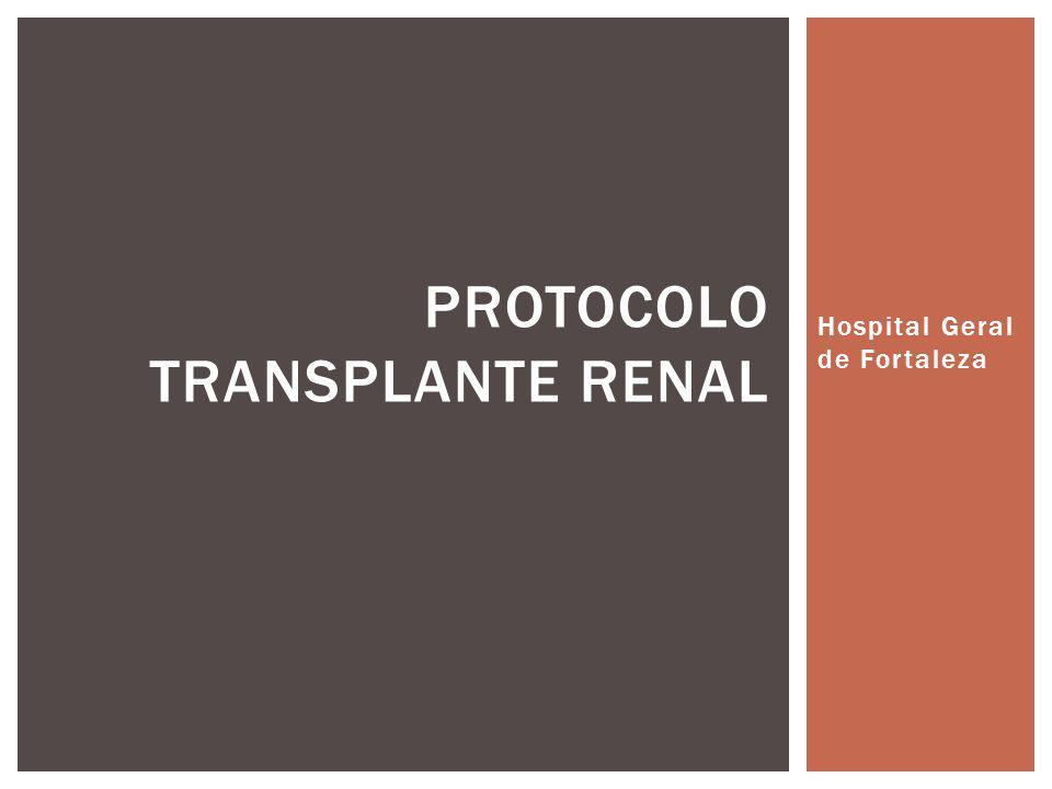 Protocolo Transplante Renal