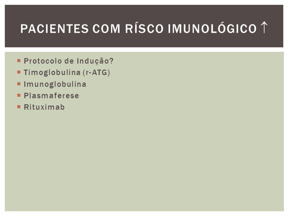 Pacientes com Rísco Imunológico 