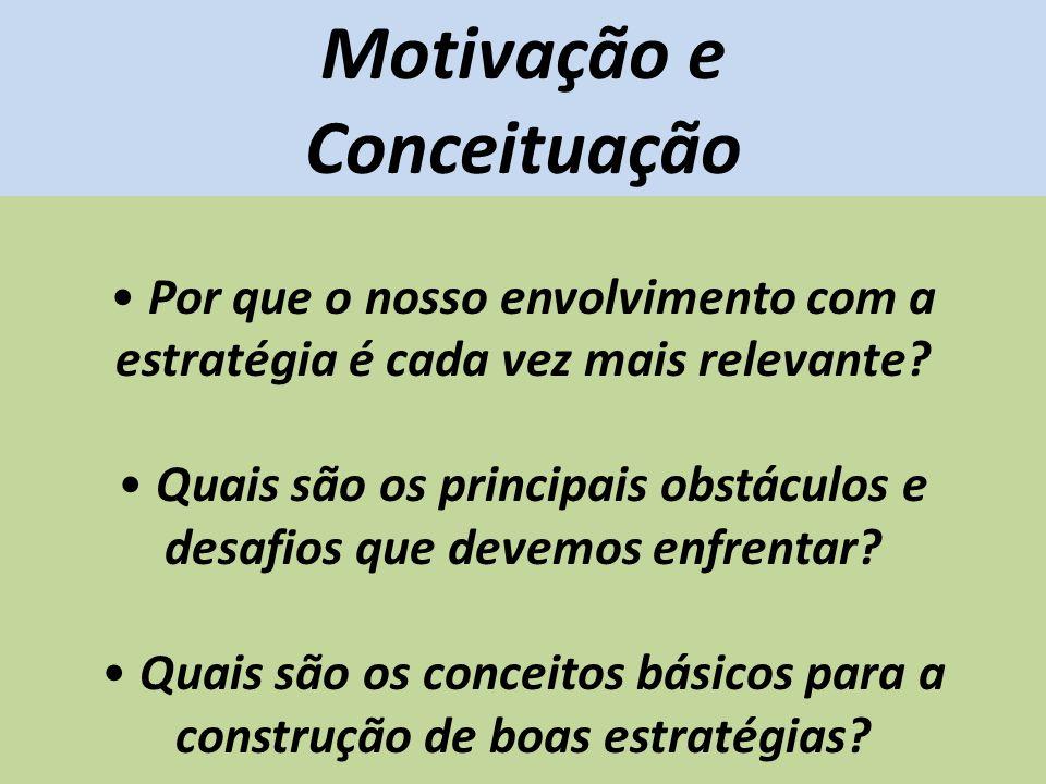 Motivação e Conceituação