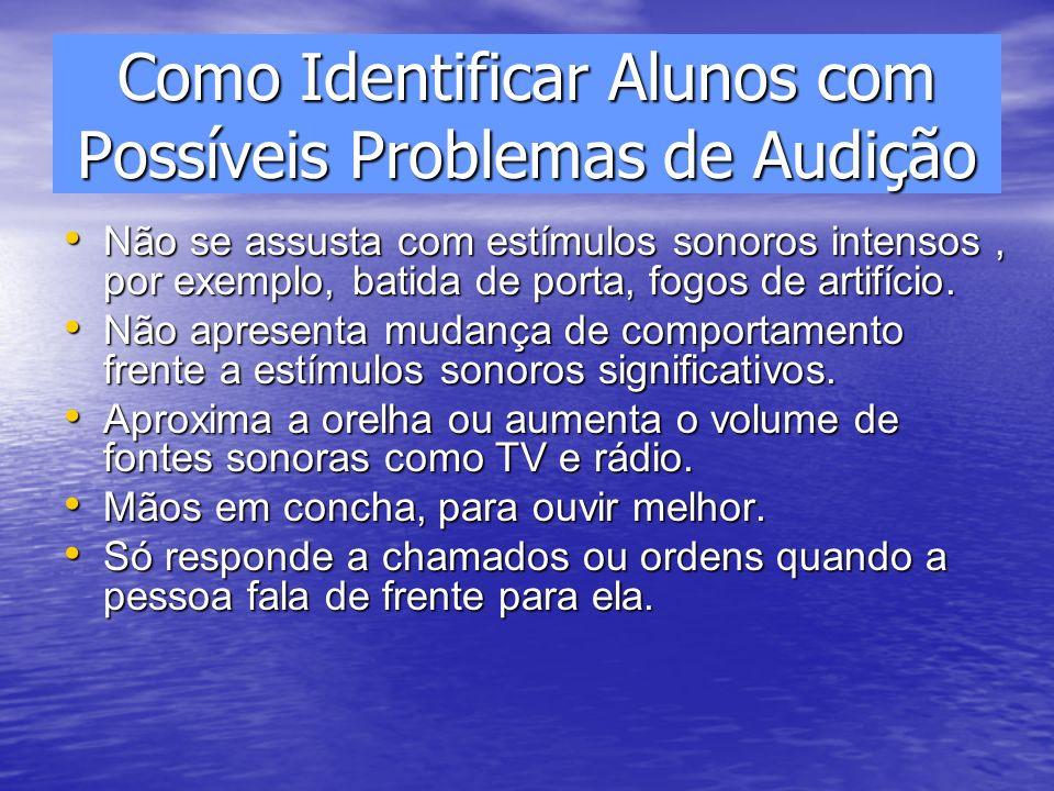 Como Identificar Alunos com Possíveis Problemas de Audição