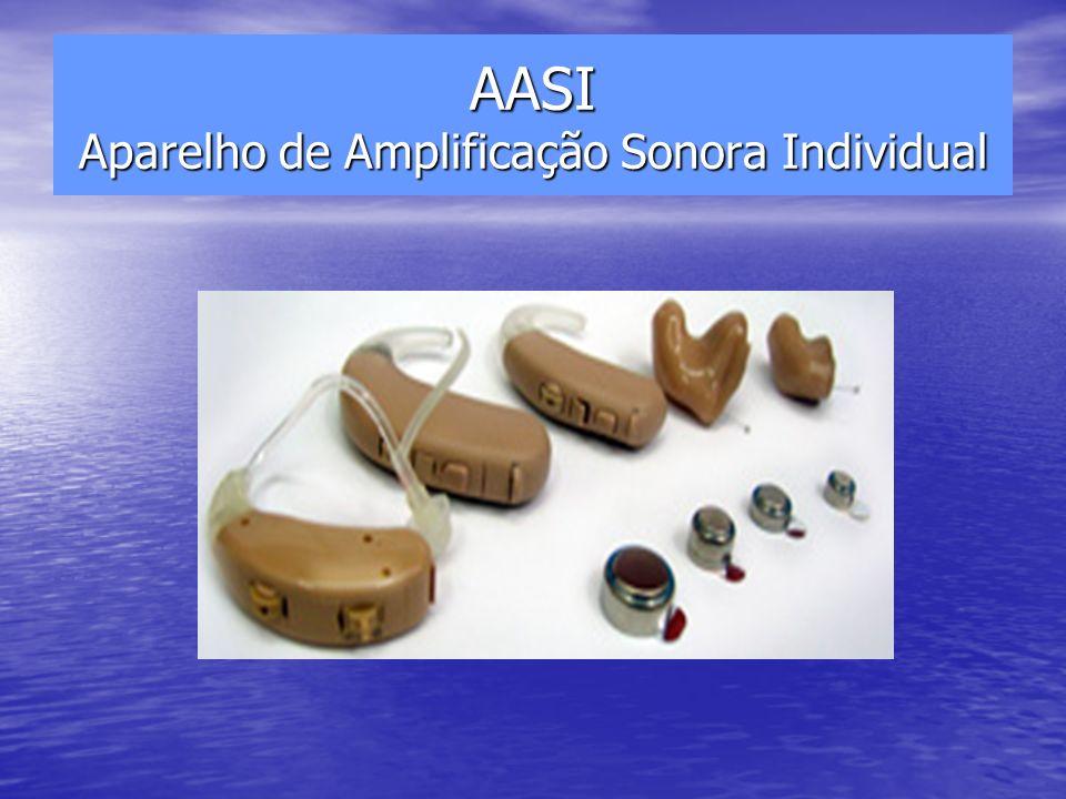 AASI Aparelho de Amplificação Sonora Individual