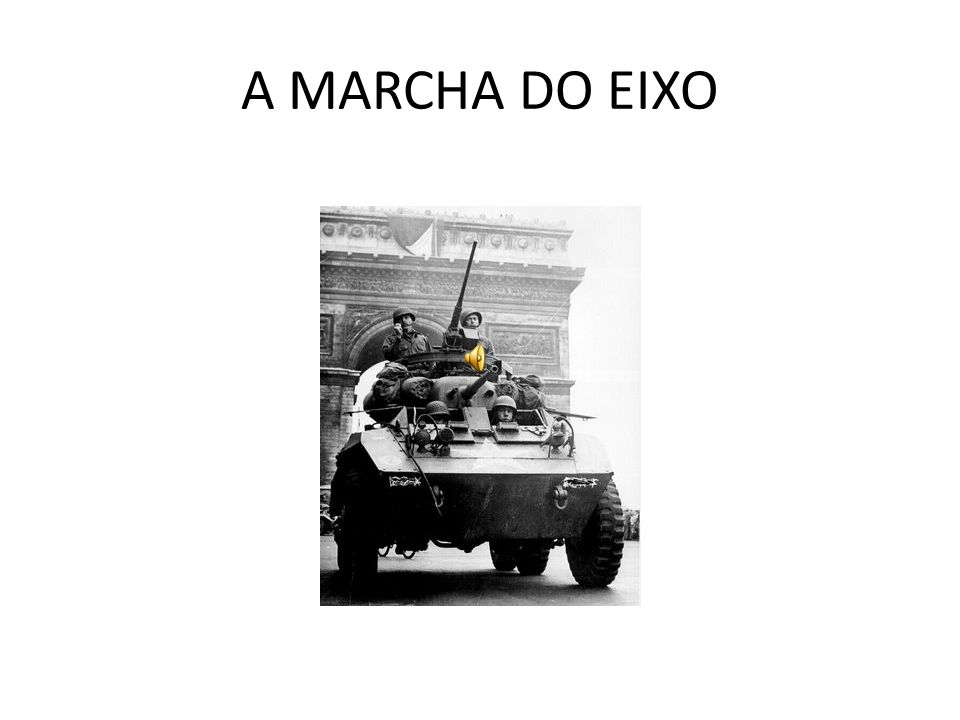 A MARCHA DO EIXO