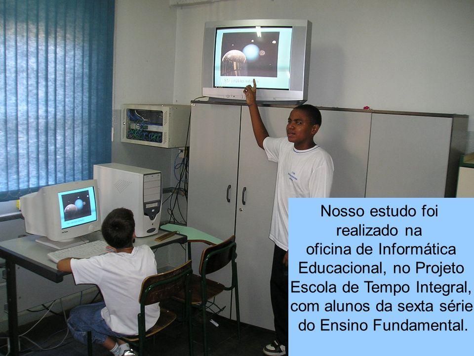 oficina de Informática Educacional, no Projeto