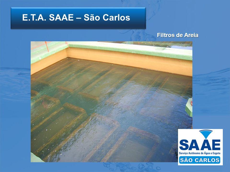 E.T.A. SAAE – São Carlos Filtros de Areia