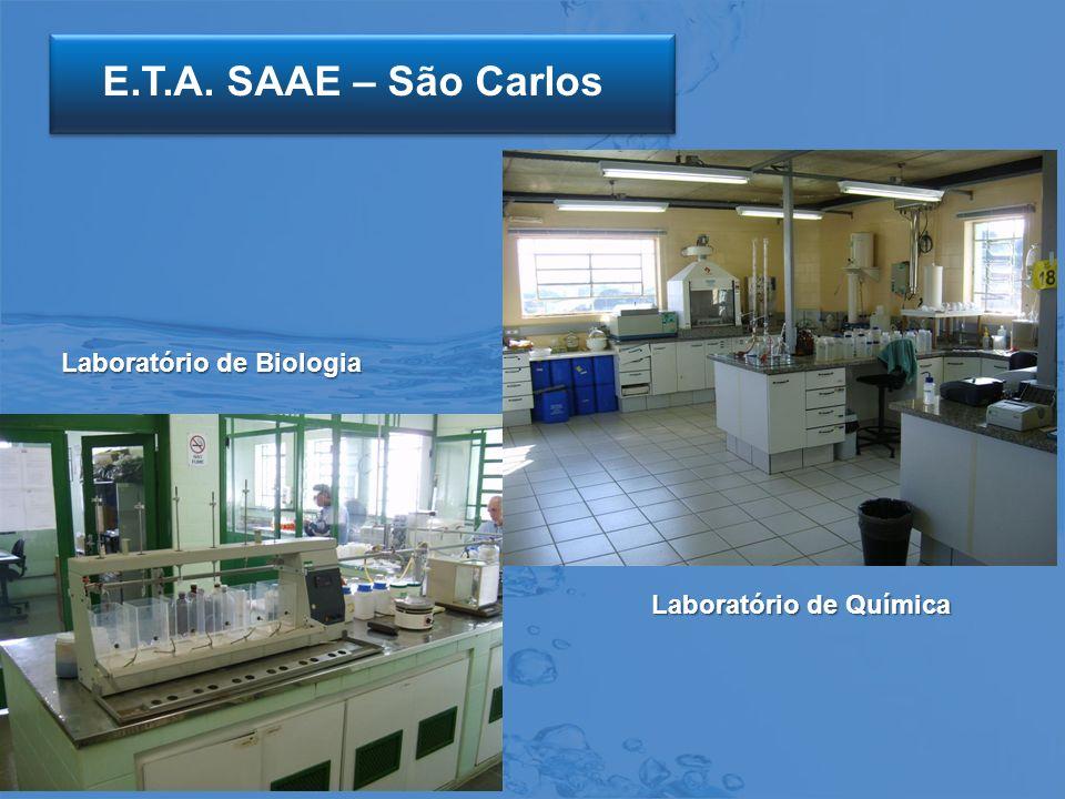 E.T.A. SAAE – São Carlos Laboratório de Biologia