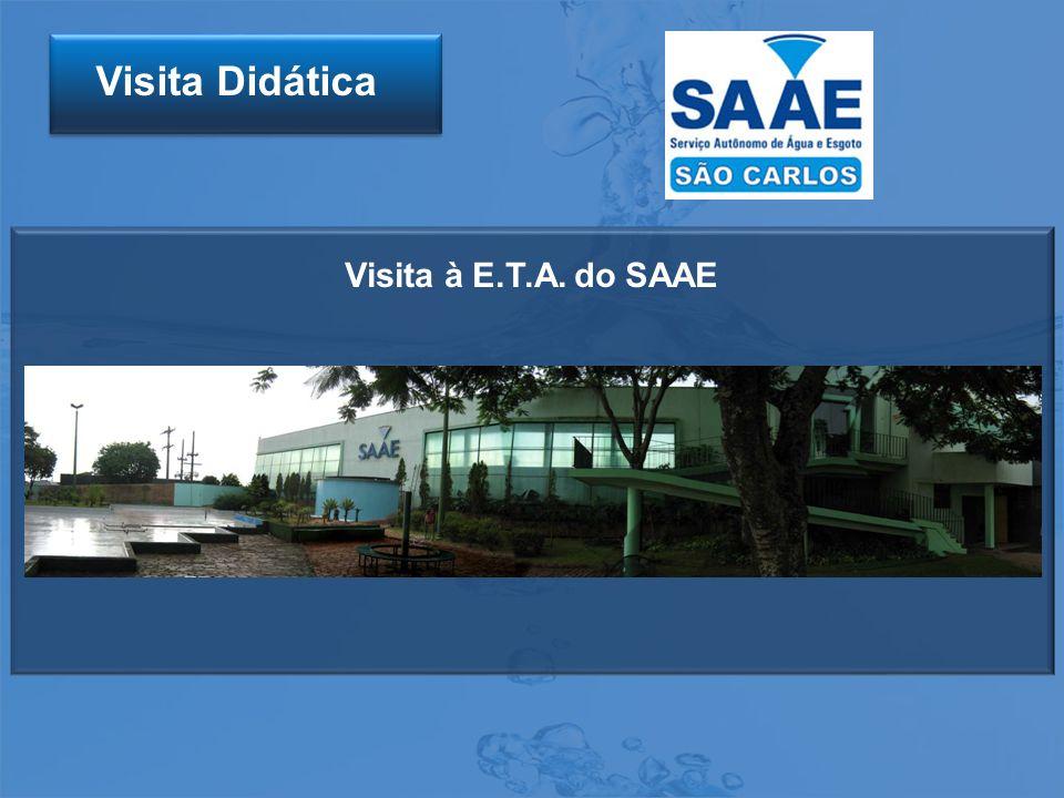 Visita Didática Visita à E.T.A. do SAAE