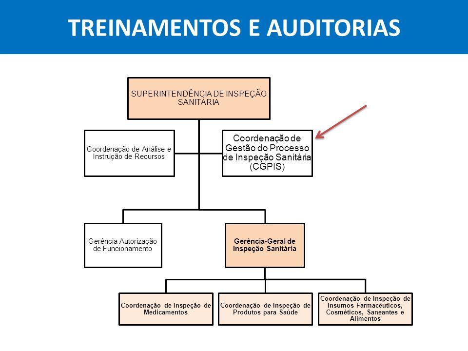 TREINAMENTOS E AUDITORIAS