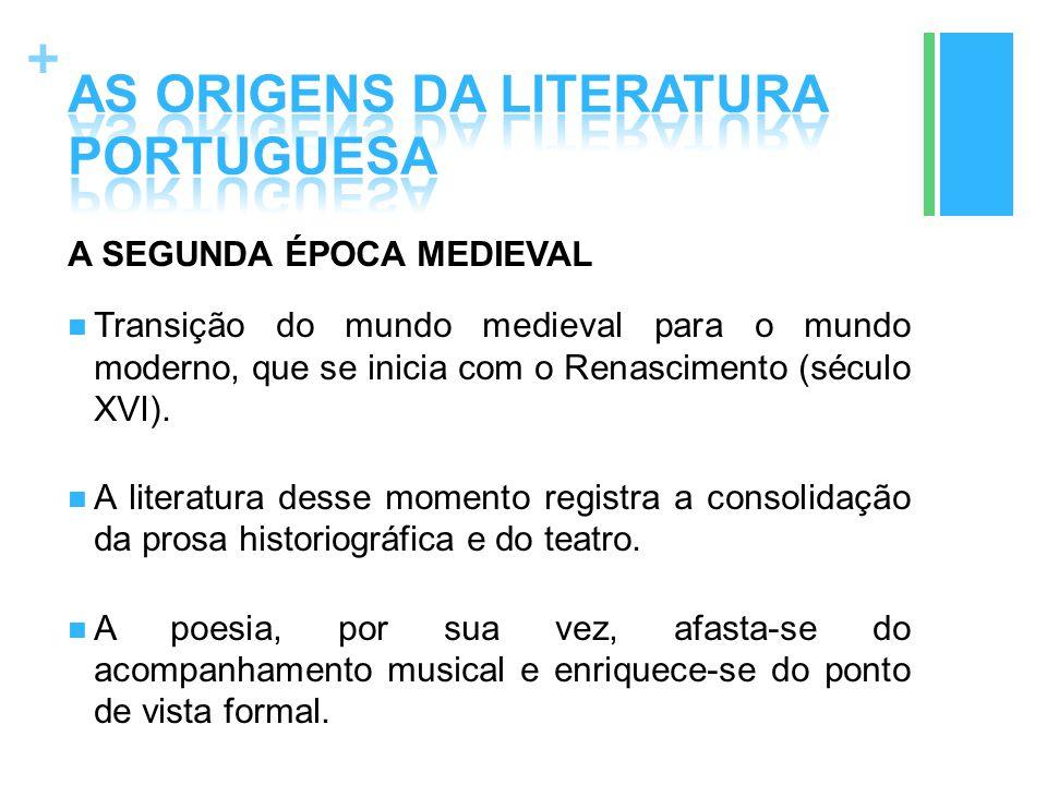 AS ORIGENS DA LITERATURA PORTUGUESA