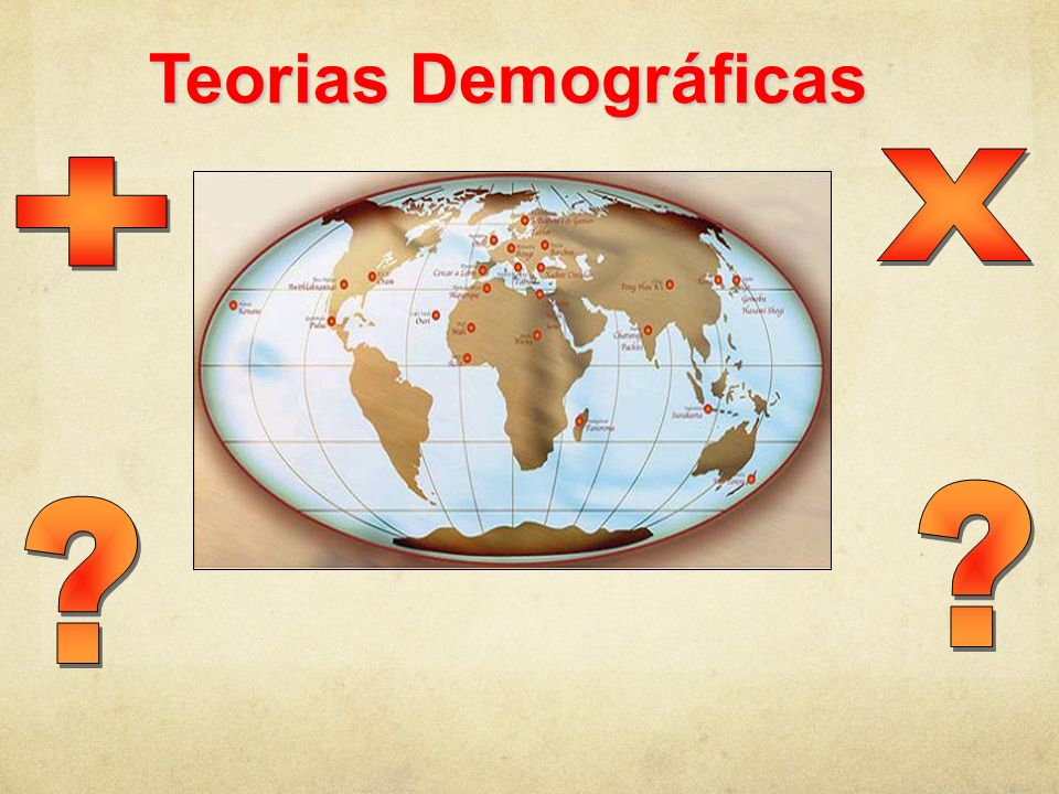 Teorias Demográficas X +