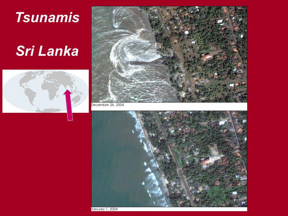 Tsunamis Sri Lanka
