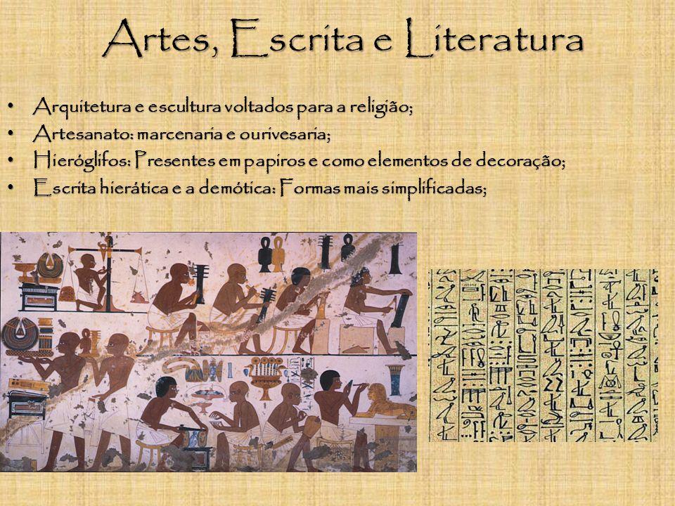 Artes, Escrita e Literatura
