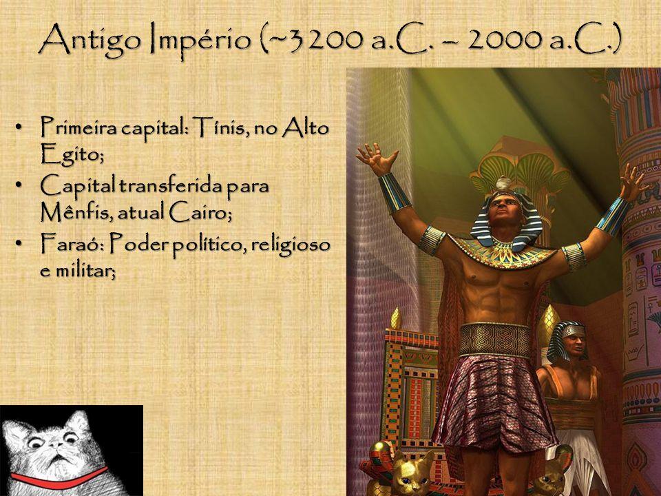Antigo Império (~3200 a.C. – 2000 a.C.)