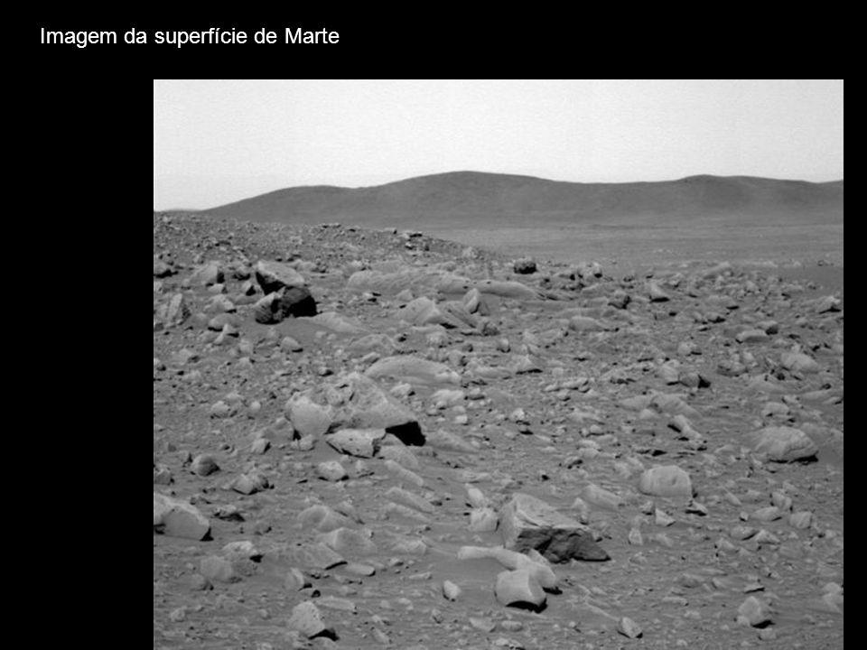 Imagem da superfície de Marte