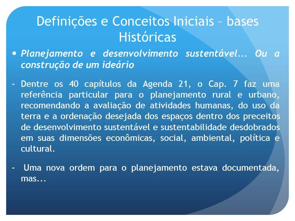 Definições e Conceitos Iniciais – bases Históricas