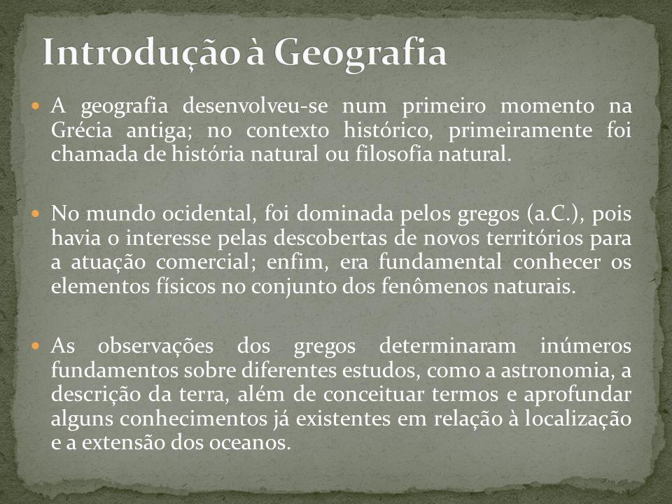 Introdução à Geografia