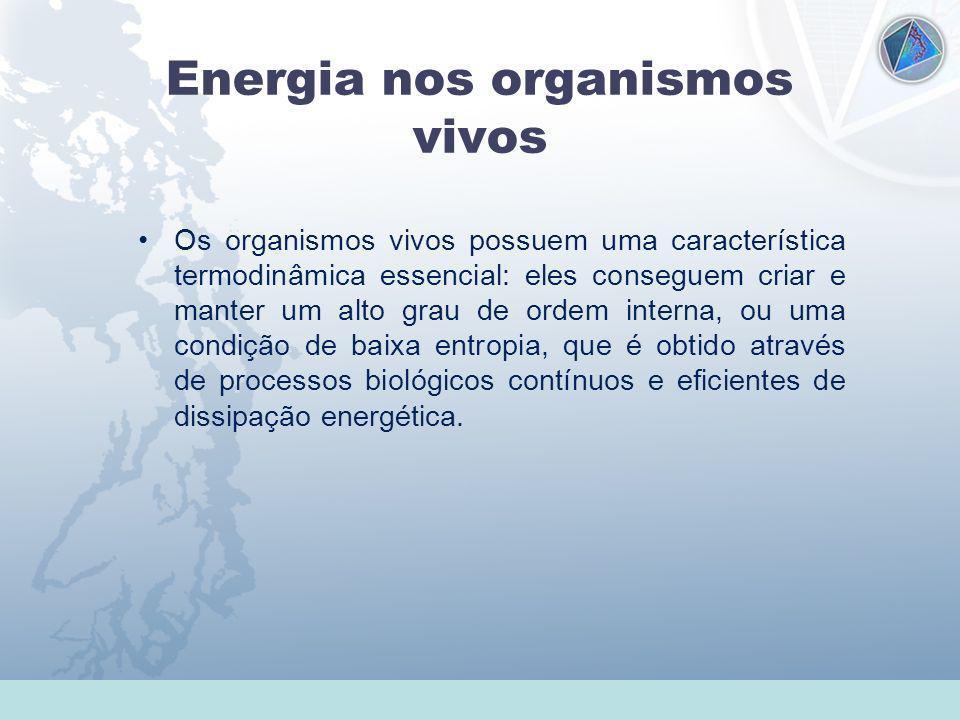 Energia nos organismos vivos