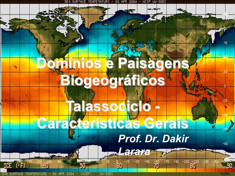 Domínios e Paisagens Biogeográficos