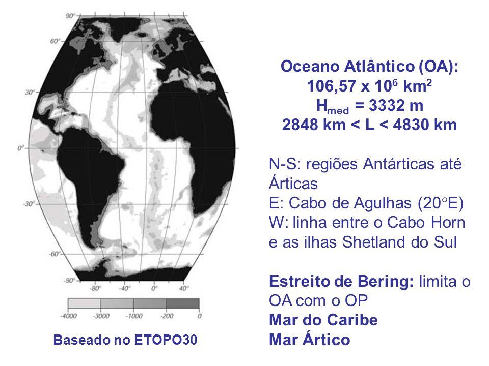 Oceano Atlântico (OA):