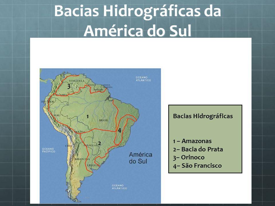 Bacias Hidrográficas da América do Sul