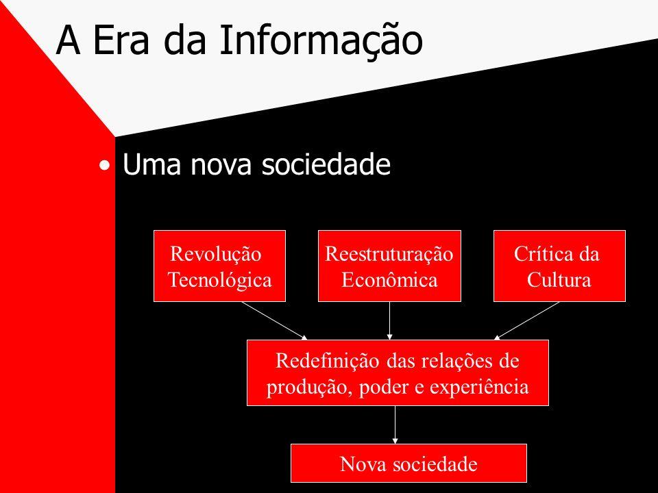 A Era da Informação Uma nova sociedade Revolução Tecnológica