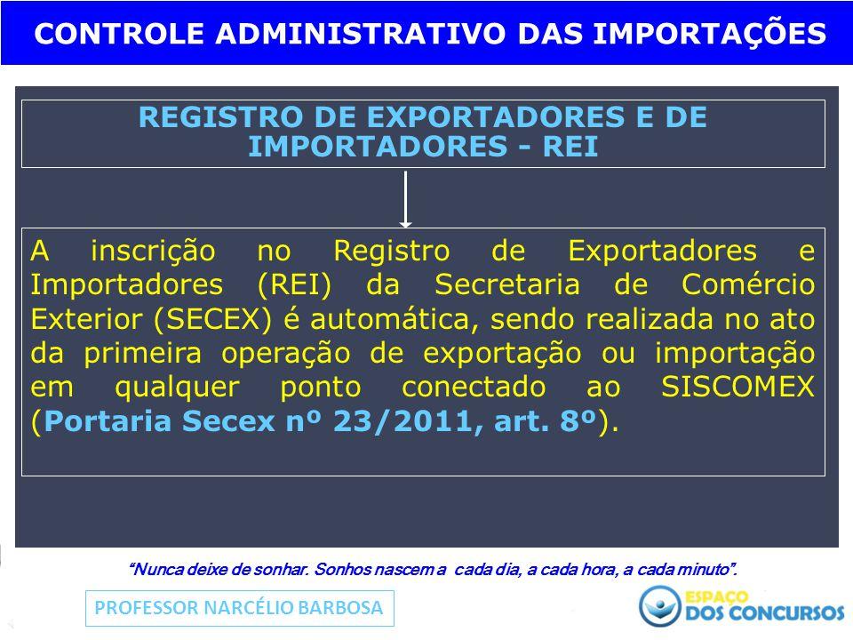 REGISTRO DE EXPORTADORES E DE IMPORTADORES - REI