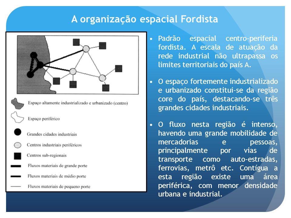 A organização espacial Fordista