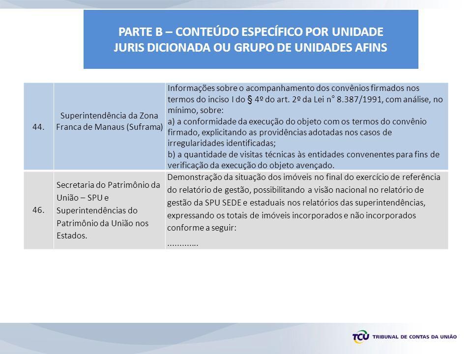Superintendência da Zona Franca de Manaus (Suframa)